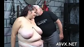 Taut pussy bizarre bondage in home xxx video