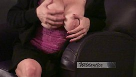 Pt 2 Horny MILF with huge tits fucks and sucks like a 21 yr old