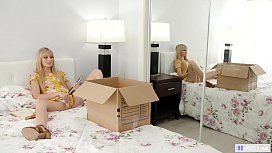 MOMMY'_S GIRL - Lesbian d. found her Stepmom'_s diary - Scarlett Sage and Reagan Foxx