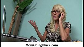 Hot horny MILF cant get enough black cock 6