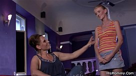 Euro teen blonde toying her old hairy snatch