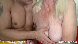 Desperately Horny Irene Gets a lucky Break and White Guy Stuffs her Hairy Pussy Full