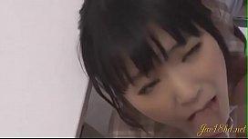 Pretty college girl Moe Sakura fingered - jav18hd.net
