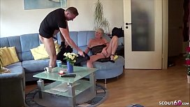 German Mother - DEUTSCHE MUTTER fickt den STIEF SOHN von Nebenan