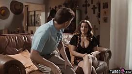 Big boobs MILF widow Natasha Nice fucks a young guy