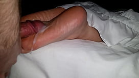 Cumming On Girlfriend's Feet #21