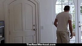 TheRealWorkout - Horny Neighbor Get Fucked After Meditation