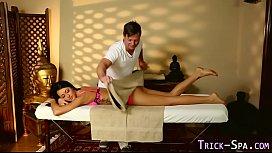 Foolish babe massage cum