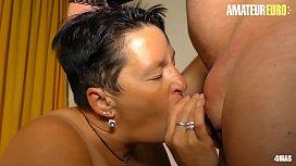 AMATEUR EURO - Dirty German Granny Karola Loves Hard Sex