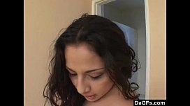 Latina Gets Screwed By A Big Black Dick