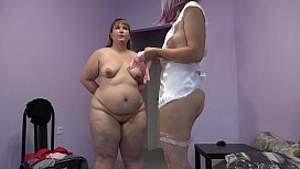 The medical examination for the bbw ended with fisting and orgasm. Role-playing fetish game of two lesbians with big asses.