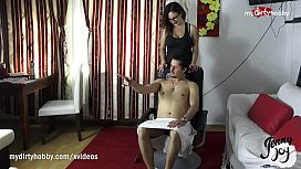 MyDirtyHobby - Client Massage Turns Into A Nice Fuck