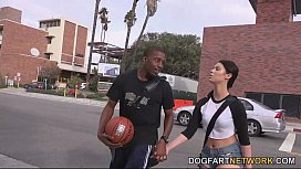 Brooklyn Rose Fucks A Black Guy In Front Of Her Step Daddy