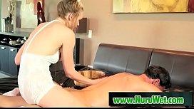 Sensual nuru massage with Marco Banderas &amp_ Keira Nicole