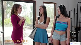 Jealous Daughter joins to her Mom and Stepsis - Alina Lopez, Jade Baker and Natasha Nice - Mommy'_s Girl