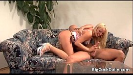 Attractive and hot blonde porn star gets