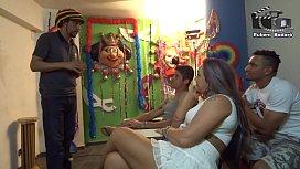 Aula de sexo oral com Alessandra Maia.  Rubens Badaro Dhones Portella Productions Mr Rola Ator ( V&iacute_deo completo no Xvideos Red )