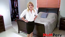Stepmother Blaten Lee dicked after taboo blowjob