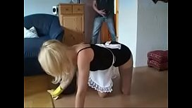 German Blonde Milf get hot Fuck from young Boy