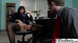 Hardcore Sex In Office With Big Round Boobs Horny Girl (mercedes carrera) vid-22