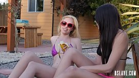 Blonde Beauty Gets Her Teen Bumhole Screwed