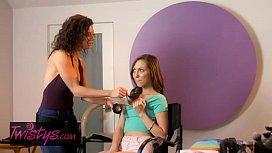 Mom Knows Best - (Jenna Sativa, Lynn Vega) - Pre-Scene Warmup - Twistys