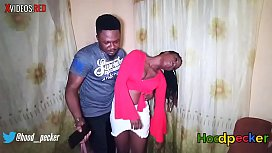 Heavily d. pretty ebony got fucked and sprayed with cum in her d.en state.