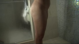 Shower Time with Pink Haired Slut