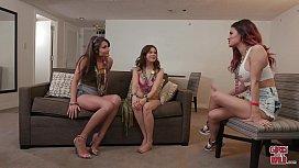 GIRLS GONE WILD - Adria Rae Breaks In Shyla Jennings