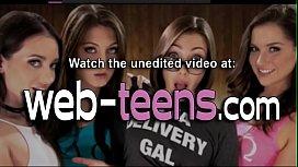 Horny mexican teen licks
