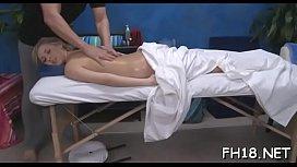 Teen sucks and bonks her massage therapist