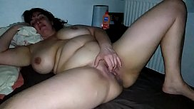 my chubby wife masturbate her pussy