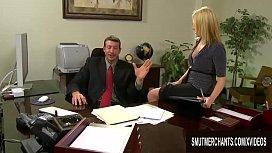 Hot Secretary Codi Carmichael Shows Her Boss Why She Deserves a Raise