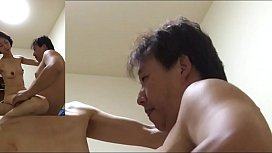 Mature wife Miyuki pants at the woman on top posture