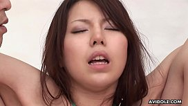 Japanese babe, Rino Tokiwa had group sex, uncensored