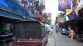 Soi Cowboy Sukhumvit Road 2 in Thailand