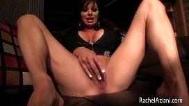 Rachel Aziani Anal Masturbation with sex toy