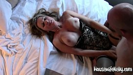 Hotwife takes 3 cocks (3)