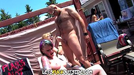 Let'_s Fuck Outside - Suburban Exterior Group Orgy