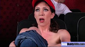 Sexy Housewife (RayVeness) With Big Jugss Nailed Hardcore On Cam vid-11