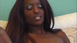 What starts with lesbo will be a nice pussyfuck - Ebony