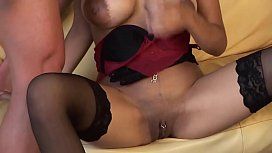 Exotic MILF Holly Welland Has Her Pussy Stuffed With Cock