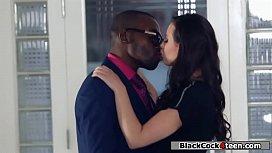 Hot stripper fucks rich guys black cock