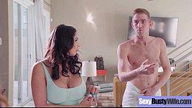 Busty Horny Housewife (Ariella Ferrera &amp_ Missy Martinez) Enjoy Hard Style Sex Action movie-07