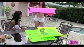 College girls carwash orgy 225