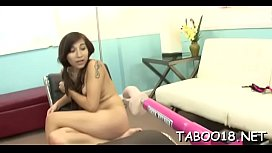 Seductive golden-haired teen rewards spicy stimulation to lascivious playmate