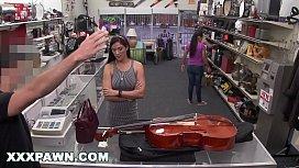XXX PAWN - Brazilian Cello Player Veronica Lemos Sells Her Body At A Pawn Shop