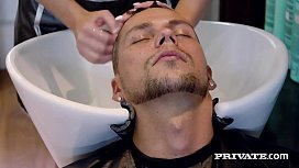 Private.com - Hot Hairdresser Vinna Reed Mega Fucks Client!