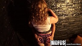 Mofos - Hot teen orgy after hours at the bar