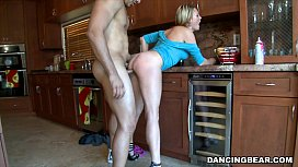 Fucked in the kitchen at party